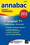Annales Annabac 2012 Espagnol teminal...