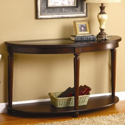 Cheap Granvia Console Table in Dark Cherry (IDF-4131S)