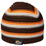 Lowe Alpine Striped Rib Beanie (BROWNSTONE)