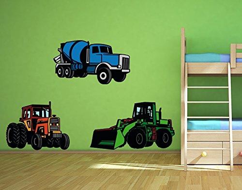 Wandsticker-Traktoren-B-x-H-110cm-x-132cm-erhltlich-in-9-Gren