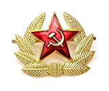 Russian Soviet Red Army Star Hat Pin Badge USSR KOKARDA