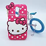 Anvika Hello Kitty Back Cover For Lenovo K4 Note - Pink