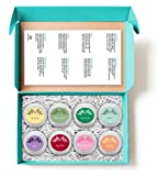 Bath-Bombs-Holiday-Gift-Set-8-All-Natural-Assorted-Essential-Oil-Bath-Bombs-Infused-with-essential-oils-as-well-as-Organic-Coconut-Oil-and-Shea-Butter-for-Moisturizing-Dry-Skin-BEST-gift-for-her