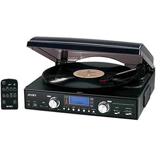 3-Speed-Stereo-Turntable-with-MP3-Encoding-System