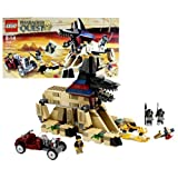Lego Year 2011 Pharaohs Quest Series Set #7326 Rise Of The Sphinx With Sphinx Temple, Hot Rod Car Plus Jake Raines...