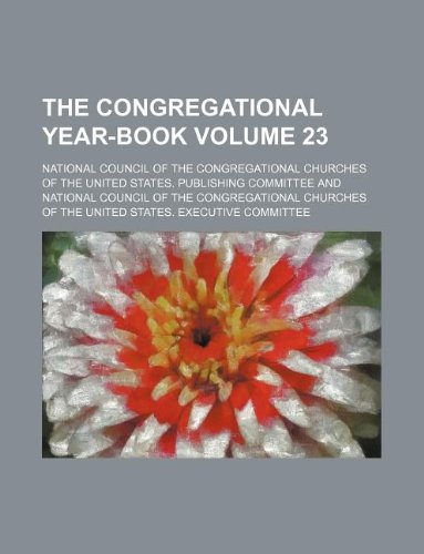 The Congregational year-book Volume 23
