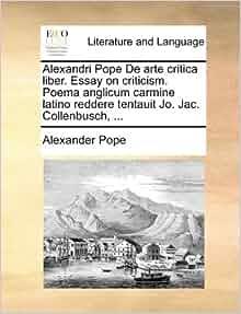 alexander pope essay on man summary