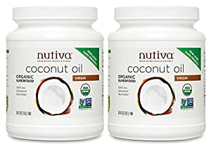 Nutiva Organic Virgin Coconut Oil, 54 Ounce (Pack of 2)