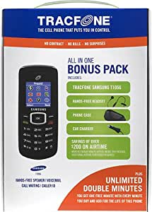 Samsung T105 Pre-Paid Cell Phone for TracFone - Black