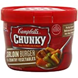 Campbell's Chunky Sirloin Burger with Country Vegetables Soup, 15.25 Ounce (Pack of 8)