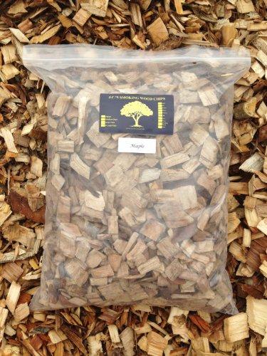J.C.'S Smoking Wood Chips - 525 Cu Inch 2-Gal Bag - Maple