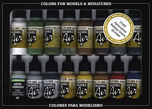 Vallejo RLM Colors Model Air Paint, 17ml (Vallejo Model Air compare prices)