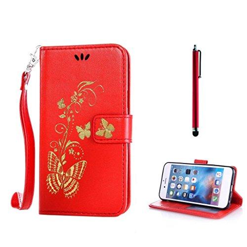 KSHOP d'accessoire pour Samsung Galaxy J7 (2016 Version) A710F Wallet Case Coque Etui PU Cuir Portefeuille Housse [Fermeture magnétique] [Slots de