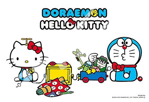 300ピース ジグソーパズル DORAEMON HELLO KITTY 一緒に遊ぼう(26x38cm)