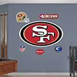 San Francisco 49ers NFL Fathead REAL.BIG Wall Logo