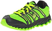 K-Swiss 52441 Tubes Run 10 Running Shoe (Little Kid),Green/Black,1.5 M US Little Kid