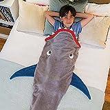Dutch Brook Shark Tail Blanket Super Soft Sleeping Bag Gift for Kids Teens