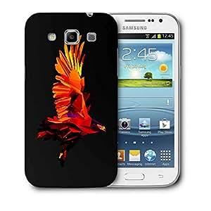 Snoogg Flying Eagle Printed Protective Phone Back Case Cover For Samsung Galaxy Samsung Galaxy Win I8550 / S IIIIII