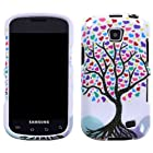 Straight Talk Samsung Galaxy Proclaim Love Tree Faceplate Hard Phone Case Cover Cell Phone Accessory 720C SCH-S720C