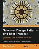Selenium Design Patterns and Best Practices