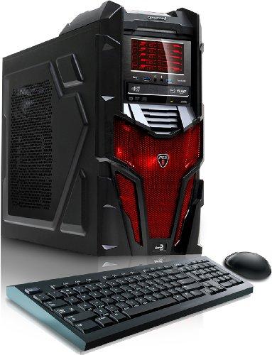 CybertronPC Mechatron GM4242Q Desktop (Black/Red)