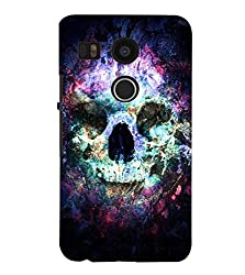 FUSON 3D Designer Back Case Cover for NEXUS5X D9872