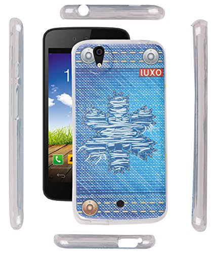 FUSON PREMIUM DESIGNER UV PRINTED SOFT SILICON BACK CASE COVER FOR MICROMAX CANVAS A1 ANDROID ONE - MODEL NO UV13