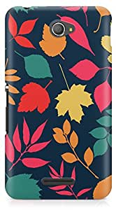 Sony E4 Back Cover by Vcrome,Premium Quality Designer Printed Lightweight Slim Fit Matte Finish Hard Case Back Cover for Sony E4