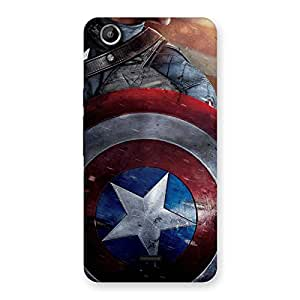 Round Back Case Cover for Micromax Canvas Selfie Lens Q345