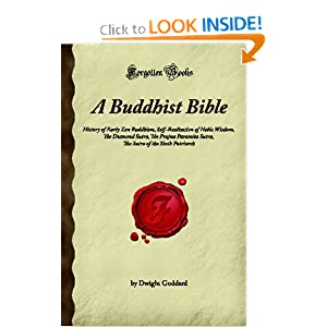 Amazon.com: A Buddhist Bible: History of Early Zen Buddhism, Self ...