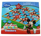 Mickey Mouse Clubhouse Set Of 2 Boxed Games: Bingo & Checkers / Tic Tac Toe