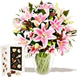 Eden4flowers Flowers Delivered - Mystique Bouquet & Chocolates