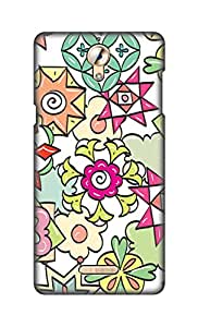 ZAPCASE Printed Back Cover for Coolpad Mega 2.5D