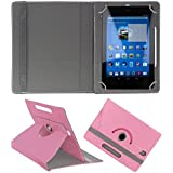 KOKO ROTATING 360° LEATHER FLIP CASE FOR APPLE IPAD MINI 4 TABLET STAND COVER HOLDER LIGHT PINK
