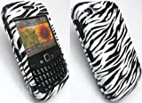 FLASH SUPERSTORE ZEBRA STYLE HYBRID PROTECTION CASE/COVER/SKIN FOR BLACKBERRY 8520 CURVE + LCD SCREEN PROTECTOR phones 