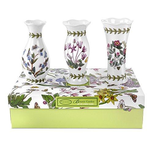 Portmeirion Botanic Garden Vases, Mini, Set Of 3 front-247848