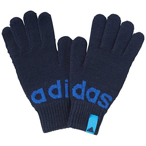 Guanti da allenamento adidas Performance lineare, colore blu, Uomo, Blue, M