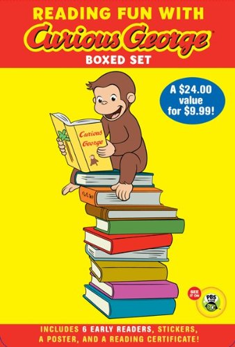 Reading Fun with Curious George Boxed Set (CGTV reader boxed set) (Green Light Readers Level 1), H. A. Rey