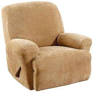 Amazon.com - Sure Fit Matelasse Damask 1-Pc Sofa-Linen ...  |Amazon Sure Fit Slipcovers