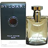 Bvlgari Pour Homme Soir by Bvlgari For Men Eau De Toilette Spray, 3.4 Ounce