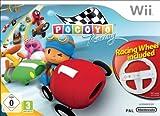 echange, troc Pocoyo racing + racing wheel