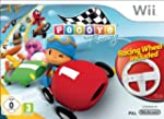 Pocoyo Racing + Wheel - Wii [French I...