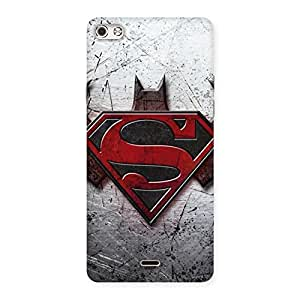 Sky Print Aksar Day vs Knight Back Case Cover for Micromax Canvas Silver 5