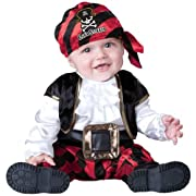 Cap'n Stinker Pirate Infant / Toddler Costume, 6-12 Months