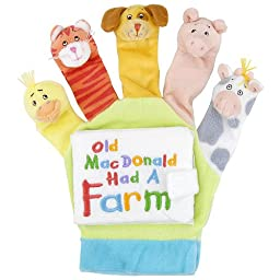 Little Scholastic Old MacDonald: Touch and Play Hand Puppet Board Book