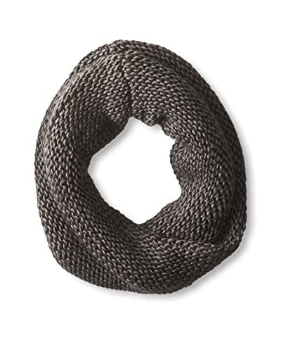Jules Smith Women's Knit Infinity Scarf, Charcoal