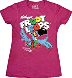 Popeye the Sailorman Kellogg's Froot Loops Logo Tucan Sam Berry Juniors T-shirt