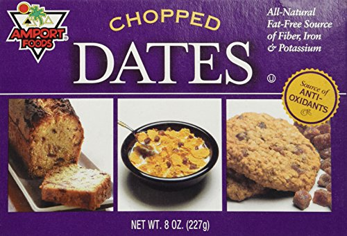 Chopped Dates [Pack Of One] (Amport Foods compare prices)