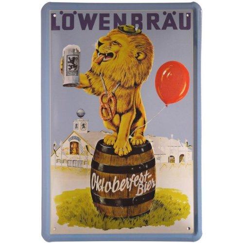 affiche-lowenbrau-oktoberfestbier-20-x-30-cm-plateau-de-rangement-en-metal