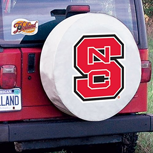 NC State Wolfpack Spare Tire Covers Size: Y - 32.25 x 12 Inch (North Carolina Tire Cover compare prices)